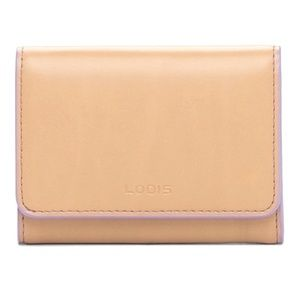 New Lodis Mallory RFID Leather Wallet NIB
